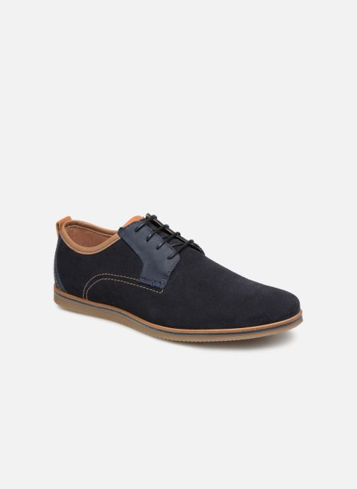 Zapatos con cordones Mr SARENZA Coxila Azul vista lateral derecha