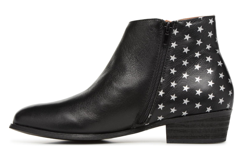 Bottines et boots Karston Wendy Old Noir vue face