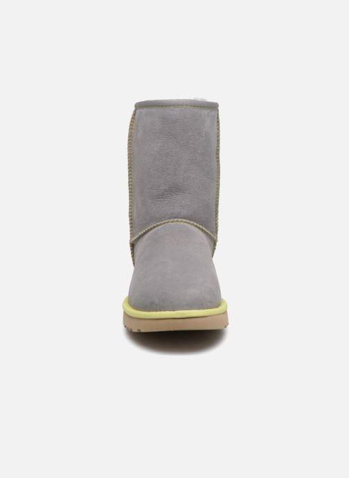 Laarzen UGG W Classic Short II Neon Grijs model