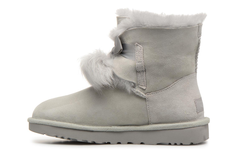 Bottines et boots UGG W Gita Gris vue face
