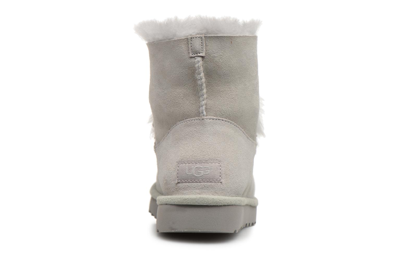 Bottines et boots UGG W Gita Gris vue droite