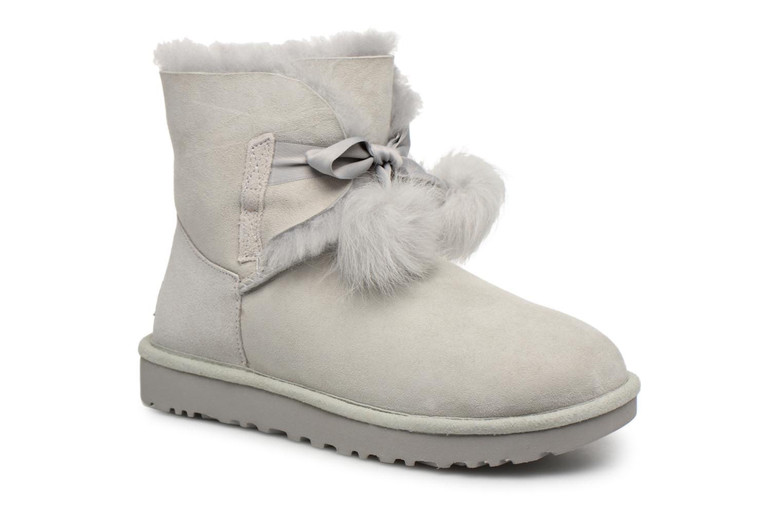 Bottines et boots UGG W Gita Gris vue détail/paire