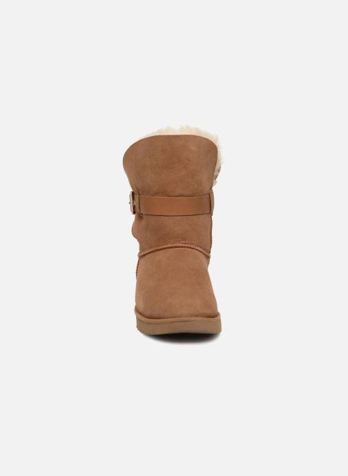 Bottines et boots UGG W Jaylyn Marron vue portées chaussures