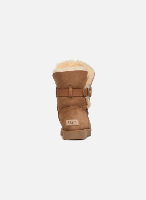 Bottines et boots UGG W Jaylyn Marron vue droite