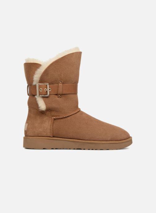 Boots en enkellaarsjes UGG W Jaylyn Bruin achterkant