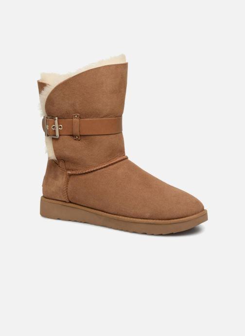 Boots en enkellaarsjes UGG W Jaylyn Bruin detail