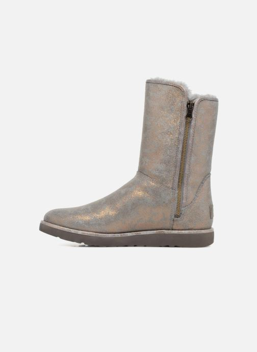 Bottines et boots UGG W Abree short II Stardust Gris vue face