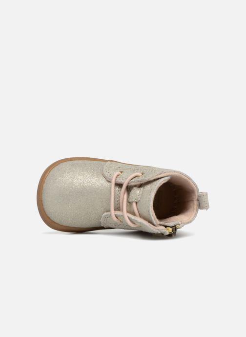 Bottines et boots UGG Kristjan Metallic K Or et bronze vue gauche