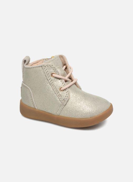 Bottines et boots UGG Kristjan Metallic K Or et bronze vue détail/paire