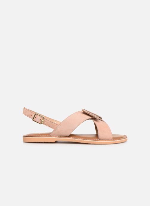 Sandales et nu-pieds Colors of California Bio Fashion Sandal Nœud Beige vue derrière