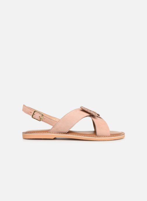 Sandalias Colors of California Bio Fashion Sandal Nœud Beige vistra trasera