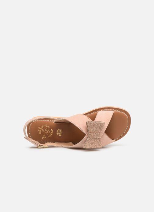 Sandalen Colors of California Bio Fashion Sandal Nœud Beige links