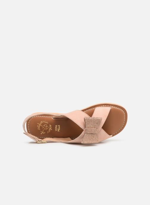 Sandalias Colors of California Bio Fashion Sandal Nœud Beige vista lateral izquierda