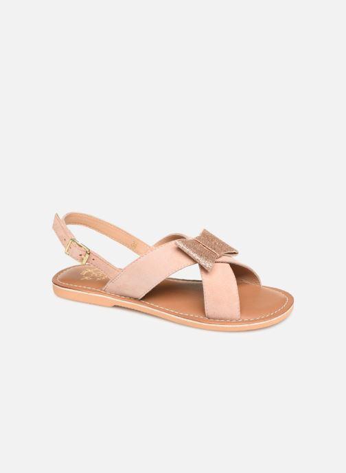 Sandales et nu-pieds Colors of California Bio Fashion Sandal Nœud Beige vue détail/paire