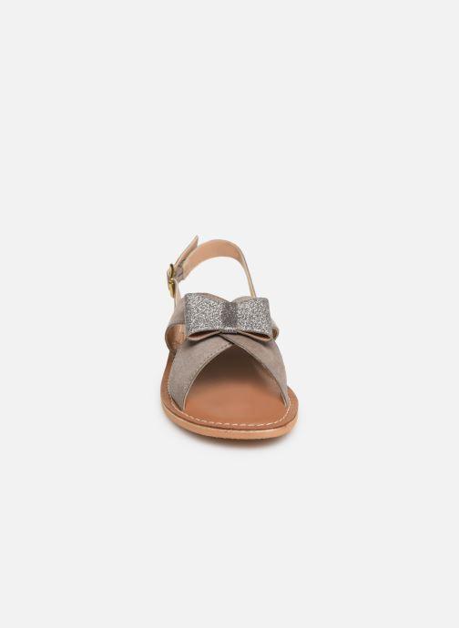 Sandali e scarpe aperte Colors of California Bio Fashion Sandal Nœud Grigio modello indossato