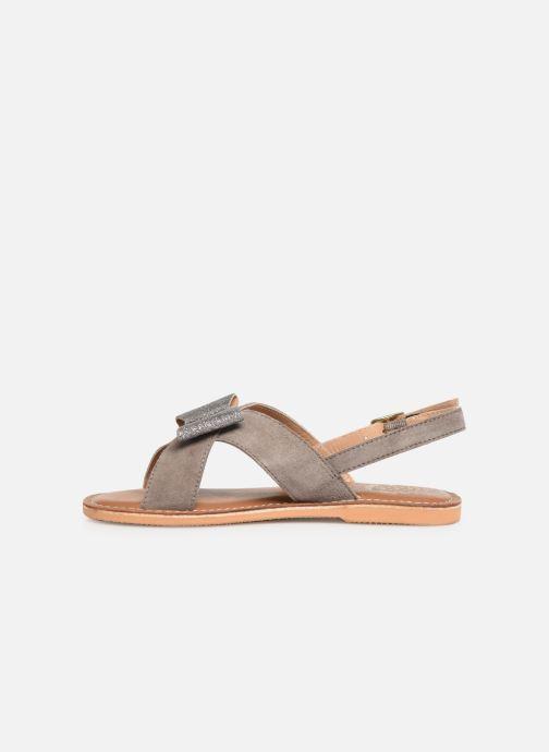 Sandalias Colors of California Bio Fashion Sandal Nœud Gris vista de frente