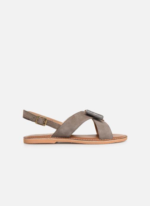 Sandales et nu-pieds Colors of California Bio Fashion Sandal Nœud Gris vue derrière