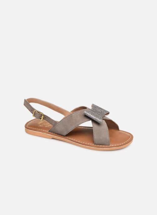 Sandalen Colors of California Bio Fashion Sandal Nœud Grijs detail