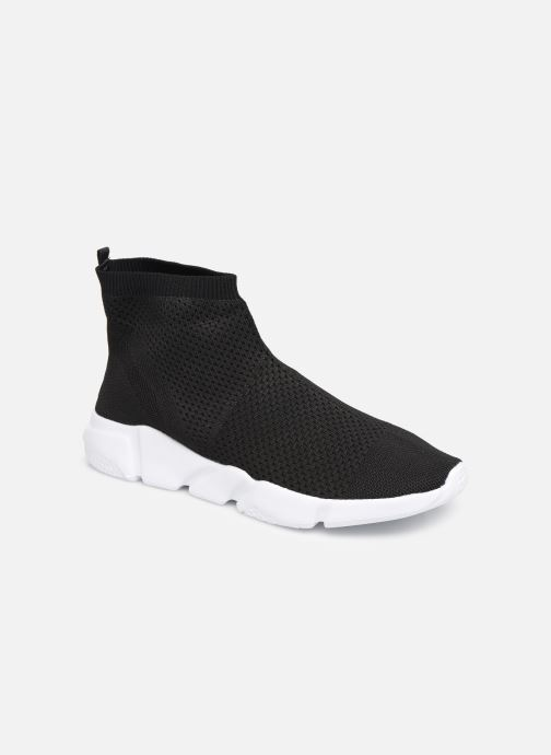 Baskets Colors of California Knitted Sneaker With Eva Sole Noir vue détail/paire