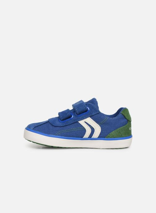 Sneakers Geox B Kilwi Boy B82A7G Blauw voorkant