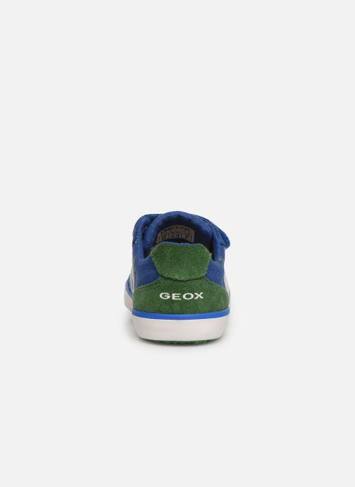 Sneakers Geox B Kilwi Boy B82A7G Blauw rechts