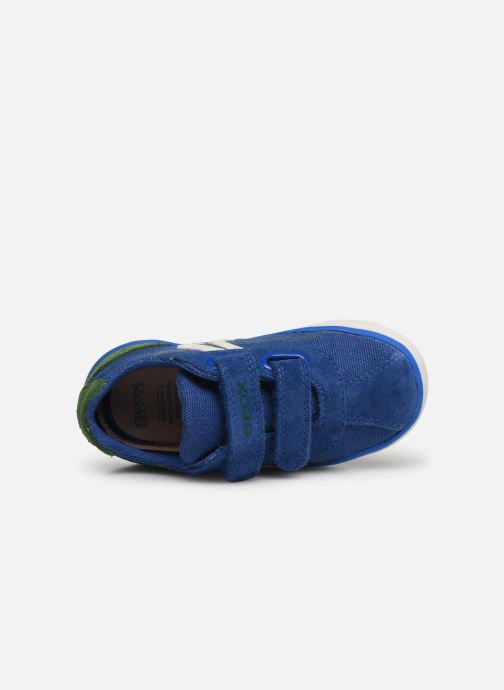 Sneakers Geox B Kilwi Boy B82A7G Blauw links