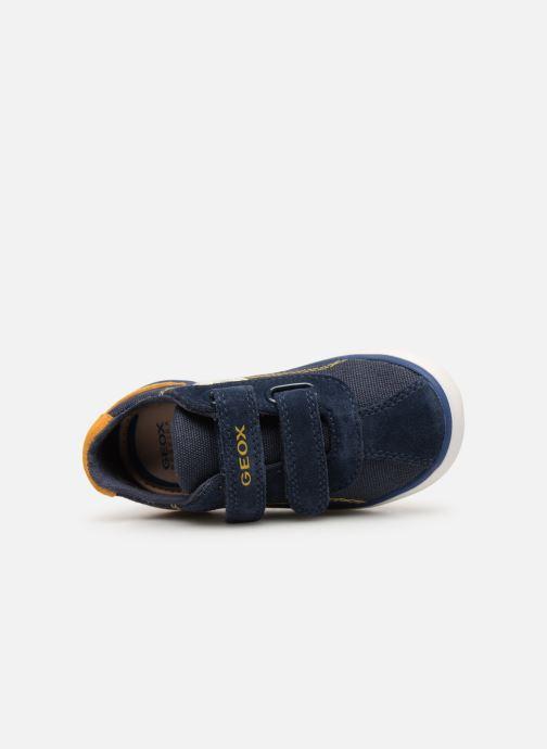 Sneakers Geox B Kilwi Boy B82A7G Blauw links