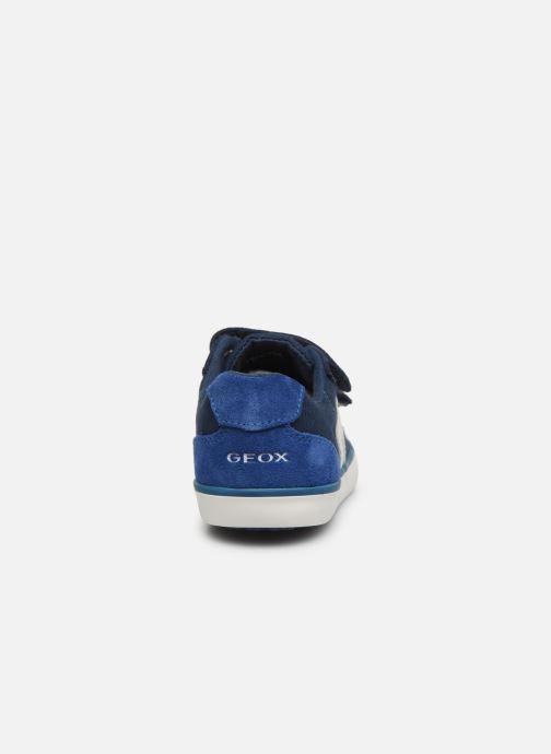 Baskets Geox B Kilwi Boy B82A7G Bleu vue droite
