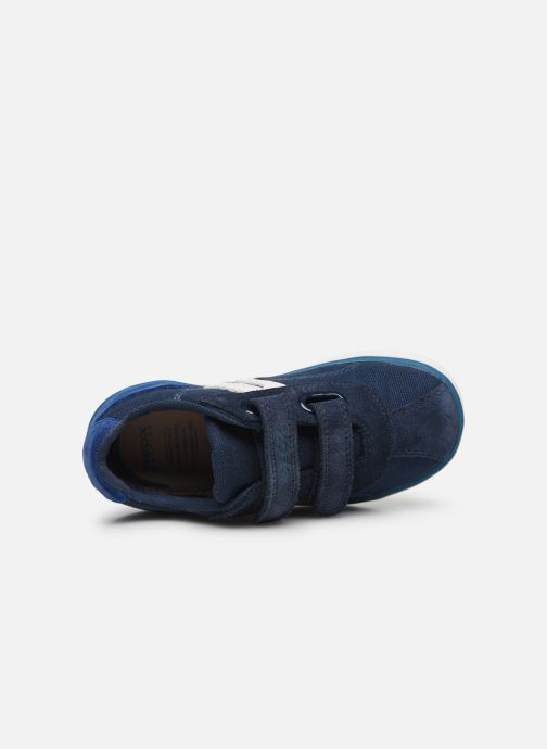Baskets Geox B Kilwi Boy B82A7G Bleu vue gauche