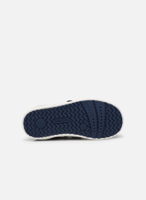 Baskets Geox B Kilwi Boy B82A7G Bleu vue haut