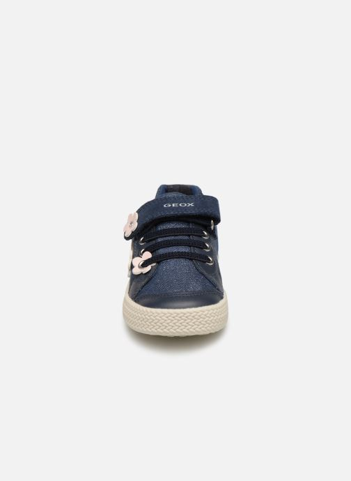 Baskets Geox B Kilwi Girl B92D5A Bleu vue portées chaussures
