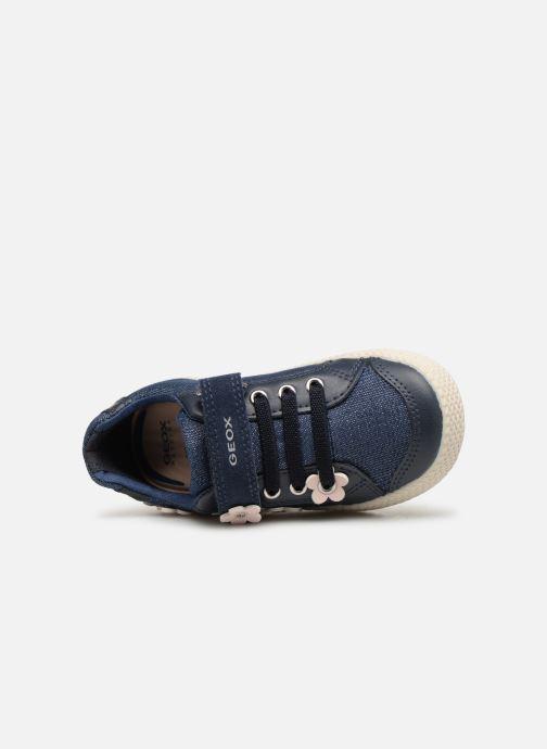 Sneakers Geox B Kilwi Girl B92D5A Blauw links