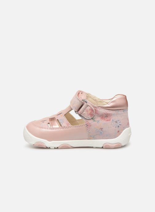 Ballerines Geox B New Balu' Girl B820QA Rose vue face