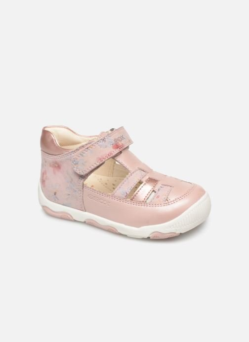 Ballerines Geox B New Balu' Girl B820QA Rose vue détail/paire