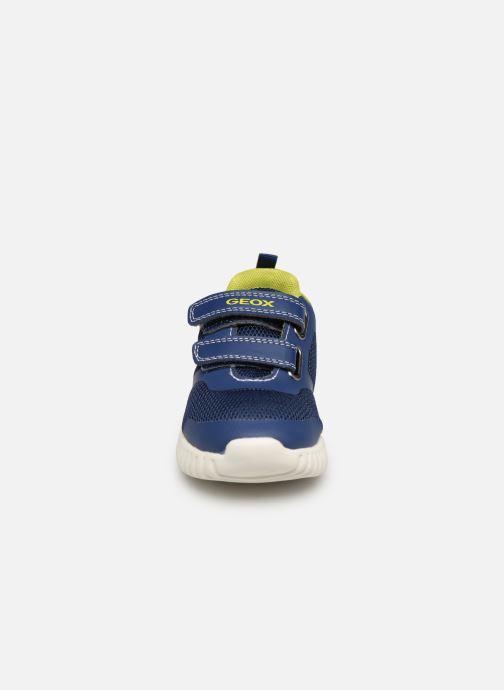 Sneakers Geox B Waviness Boy B922BA Blå se skoene på