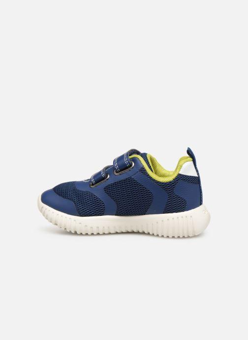 Sneakers Geox B Waviness Boy B922BA Blå se forfra