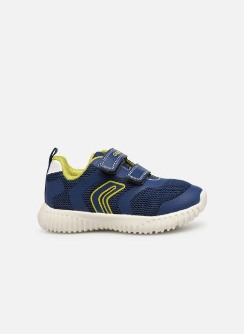 Sneakers Geox B Waviness Boy B922BA Blå se bagfra