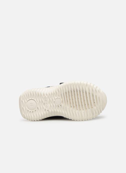 Sneakers Geox B Waviness Boy B922BA Blå se foroven