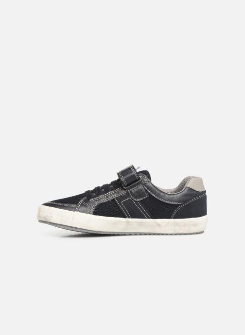 Sneakers Geox J Alonisso Boy J922CC Blå se forfra