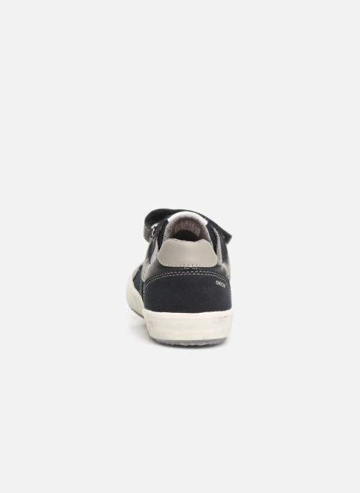 Sneakers Geox J Alonisso Boy J922CC Blå Se fra højre