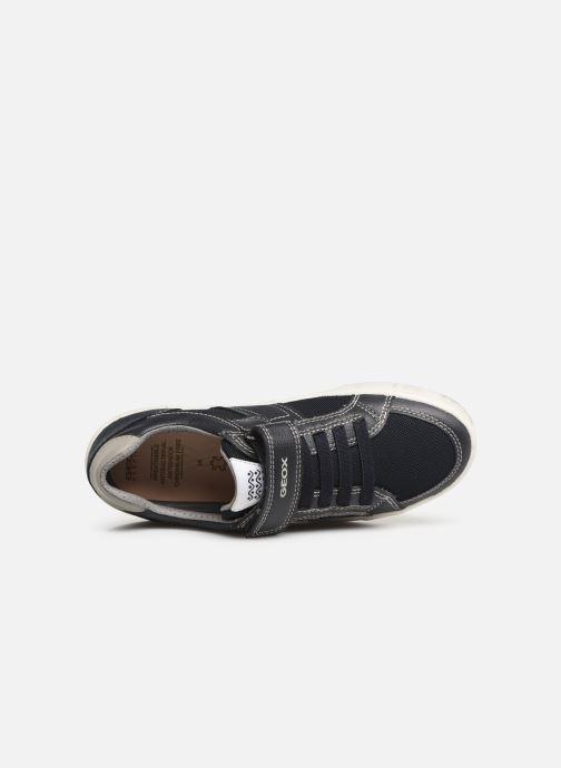 Sneakers Geox J Alonisso Boy J922CC Blauw links