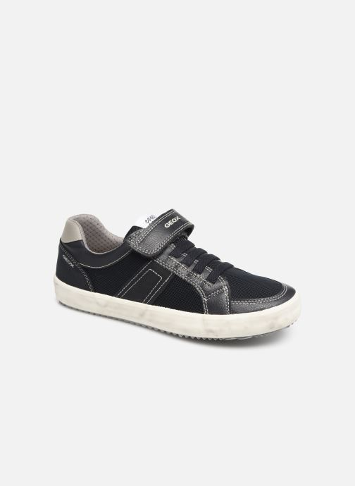 Sneakers Geox J Alonisso Boy J922CC Blå detaljeret billede af skoene