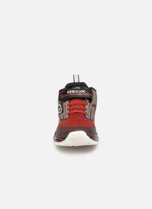 Baskets Geox J Android Boy J9244A Noir vue portées chaussures