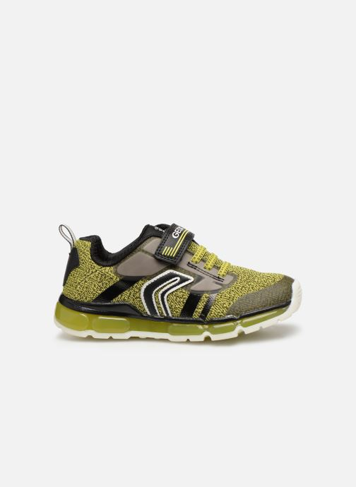 Trainers Geox J Android Boy J9244A Green back view