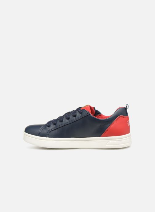 Sneakers Geox J Djrock Boy J925VD Blauw voorkant