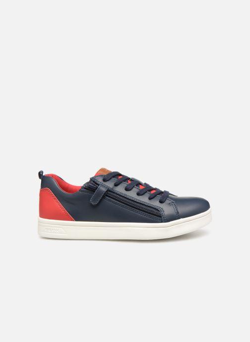 Sneakers Geox J Djrock Boy J925VD Blauw achterkant