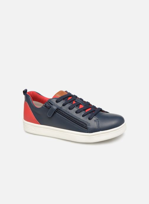 Sneakers Geox J Djrock Boy J925VD Blauw detail