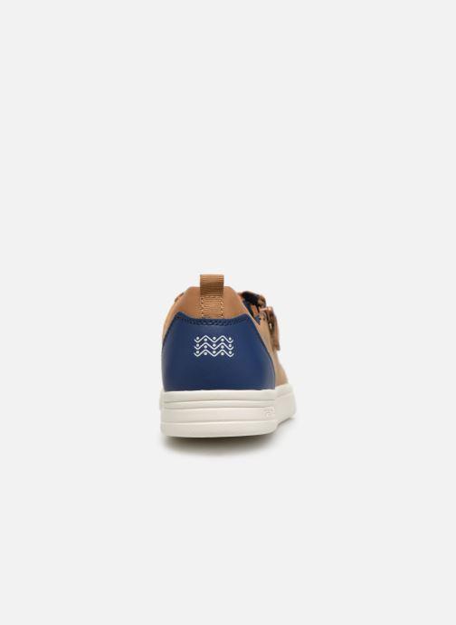 Sneakers Geox J Djrock Boy J925VD Bruin rechts