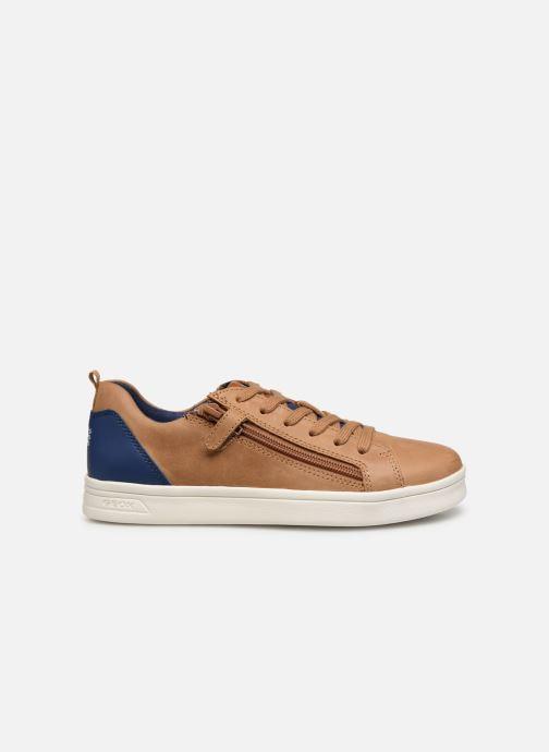 Sneakers Geox J Djrock Boy J925VD Bruin achterkant