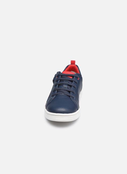 Sneaker Geox J Djrock Boy J925VD blau schuhe getragen